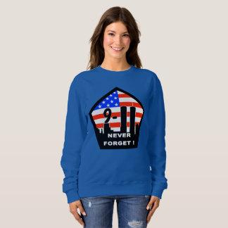 911 never forget womens sweatshirt