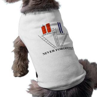 911 Never Forgotten! Pet Clothing