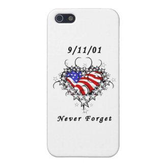 911 nunca olvide iPhone 5 carcasas