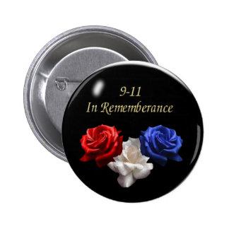 911 PIN REDONDO DE 2 PULGADAS