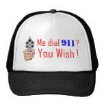 911 que usted desea gorros