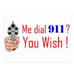 911 que usted desea tarjetas postales