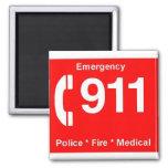 911 REFRIGERATOR MAGNETS