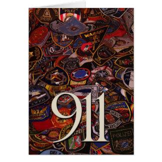 911 regalos y saludos tarjeta de felicitación