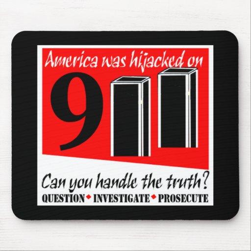911 secuestro Mousepad