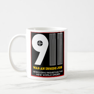 911 solid coffee mug