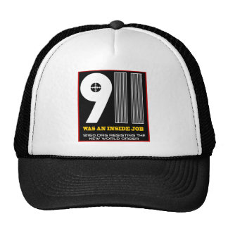 911 solid trucker hat