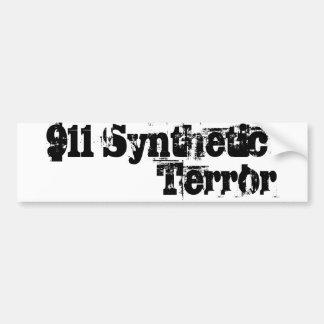 911 Synthetic Terror Car Bumper Sticker