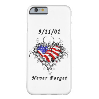 911 Tattoo Never Forget Barely There iPhone 6 Case