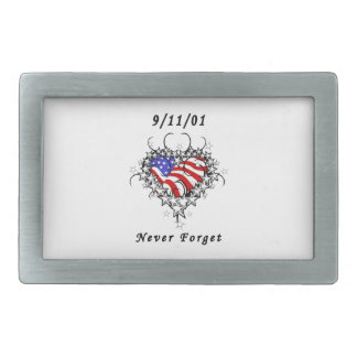 911 Tattoo Never Forget Belt Buckle