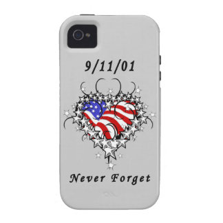 911 Tattoo Never Forget iPhone 4 Cover