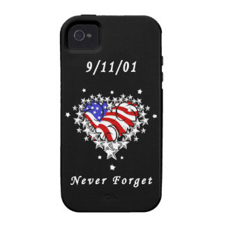 911 Tattoo Never Forget iPhone 4/4S Cover