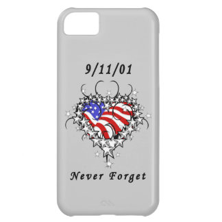 911 Tattoo Never Forget iPhone 5C Cases