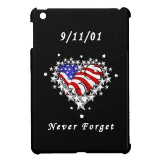 911 Tattoo Never Forget iPad Mini Cover