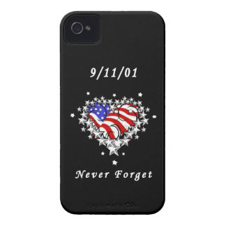 911 Tattoo Never Forget iPhone 4 Case-Mate Case