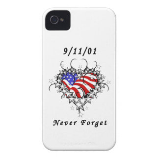 911 Tattoo Never Forget iPhone 4 Case-Mate Cases