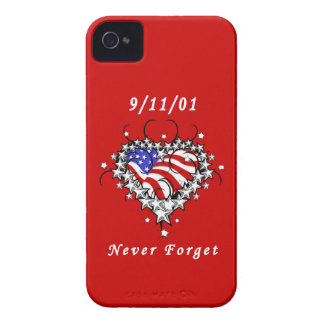 911 Tattoo Never Forget iPhone 4 Cases