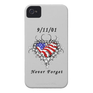 911 Tattoo Never Forget iPhone 4 Covers