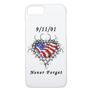 911 Tattoo Never Forget iPhone 8/7 Case