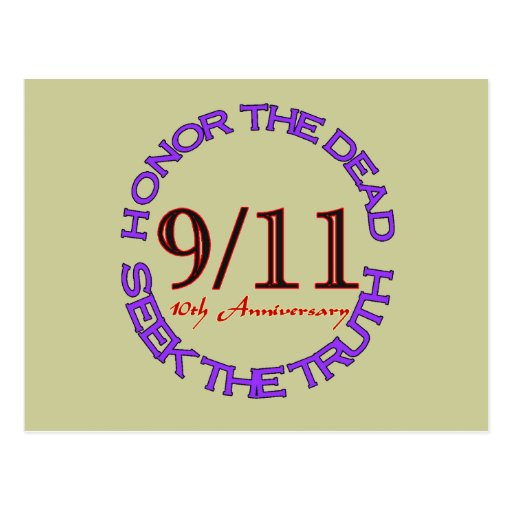 911 Tenth Anniversary Cards Postcards