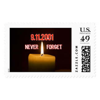 911 Tribute To America Postage Stamp