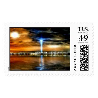 911 tributo 2 timbre postal
