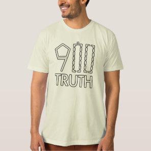 911 Truth Mens Organic Shirt
