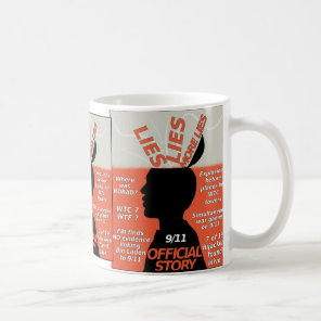 911 Truth Official Story Lies Coffee Mug