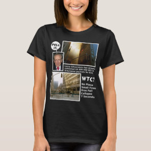 911 Truth WTC7 Pull It dark tshirt