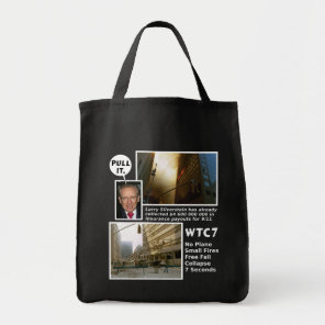 911 Truth WTC7 Pull It tote bag