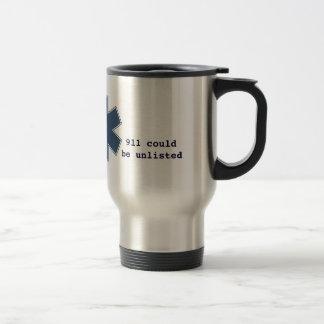 911 unlisted travel mug