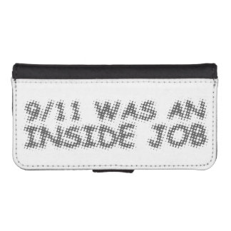911 was an inside job, bubble wallet phone case for iPhone SE/5/5s