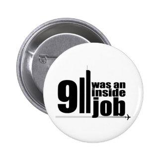 911 was an inside job button