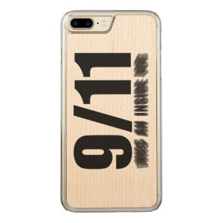 911 was an inside job carved iPhone 8 plus/7 plus case