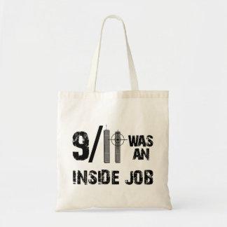 911 Was Inside Job Canvas Bag