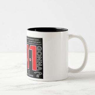 "911 ""Who Ya Gonna Call?"" Desk Mug"