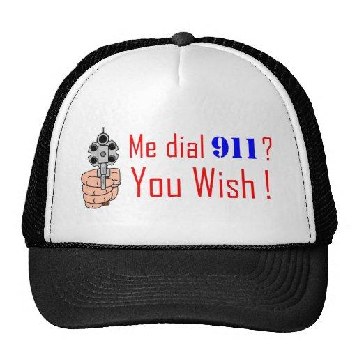 911 you wish trucker hat