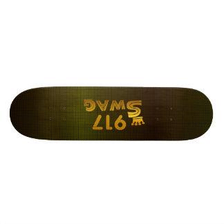 917 Area Code Swag Skateboard Deck