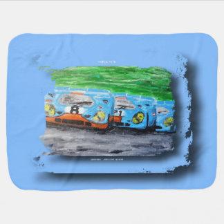 917 - Artwork Jean Louis Glineur Stroller Blanket
