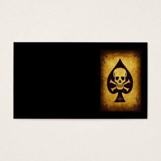 917 SKULL DEATH CARD POKER PLAYER GANGS GANGSTER D