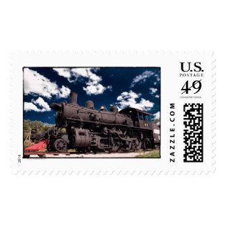 917 Steam Engine Mansfield Ohio Postage