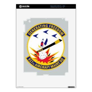 917th Aircraft Maintenance Squadron iPad 2 Skin