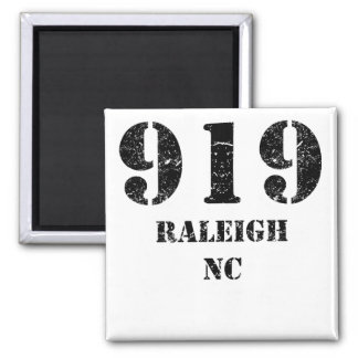 919 Raleigh NC Magnet