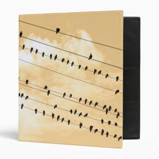 91(1) birds 3 ring binder
