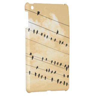 91(1) birds iPad mini cover