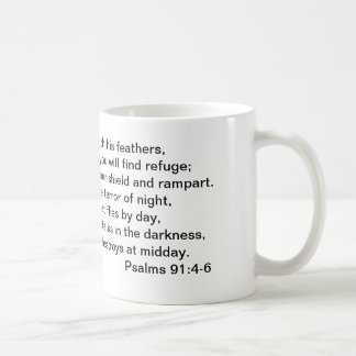 91:4 del salmo - taza 6