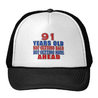 91 Ahead Birthday Designs Trucker Hat