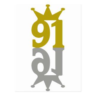 91-Crown-Reflection Postcard