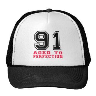 91 envejecido a la perfección gorro
