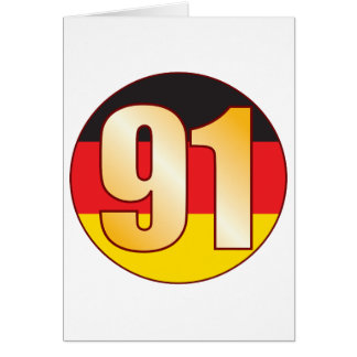 91 GERMANY Gold Card